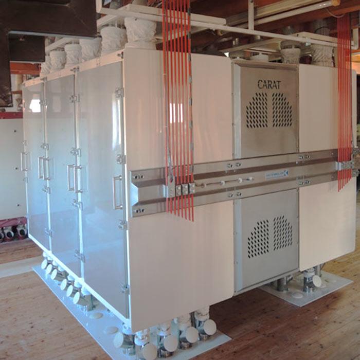 Mühlenmodernisierung 40 t